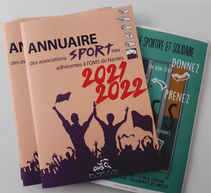 L'annuaire des associations sportives nantaises est disponible !